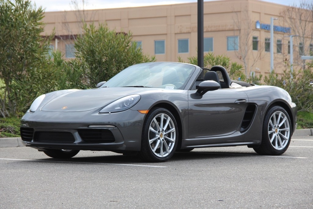 New 2018 Porsche 718 Boxster Base