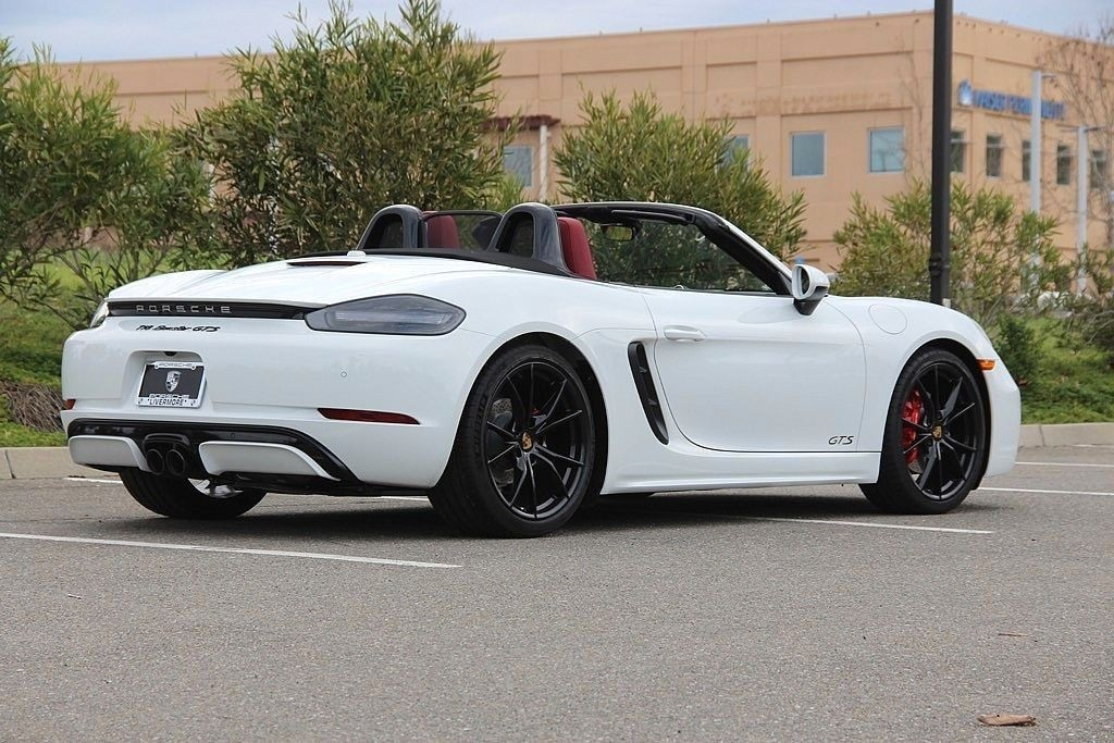New 2019 Porsche 718 Boxster GTS 2D Convertible in ...